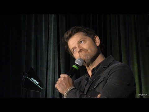 Misha Collins talking about wearing Jensen's clothes