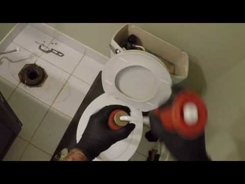 FOREIGN OBJECT LODGED IN TOILET - AHWATUKEE, AZ
