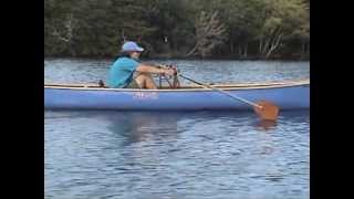 FrontRower forward facing rowing system video