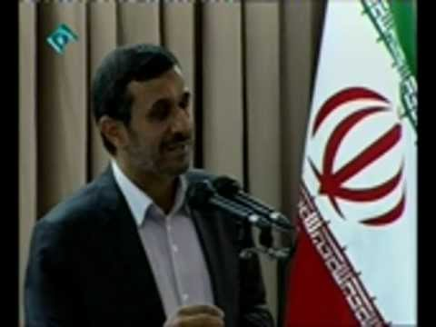 Ahmadinejad's speech in the meeting of supreme leader with government officials - July 24, 2012