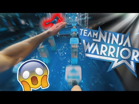 Let's Play TEAM NINJA WARRIOR POV 🎮 - Virtual Reality PARKOU
