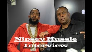 Nipsey Hussle Interview (Thinking outside the box + Biggest Inspiration)