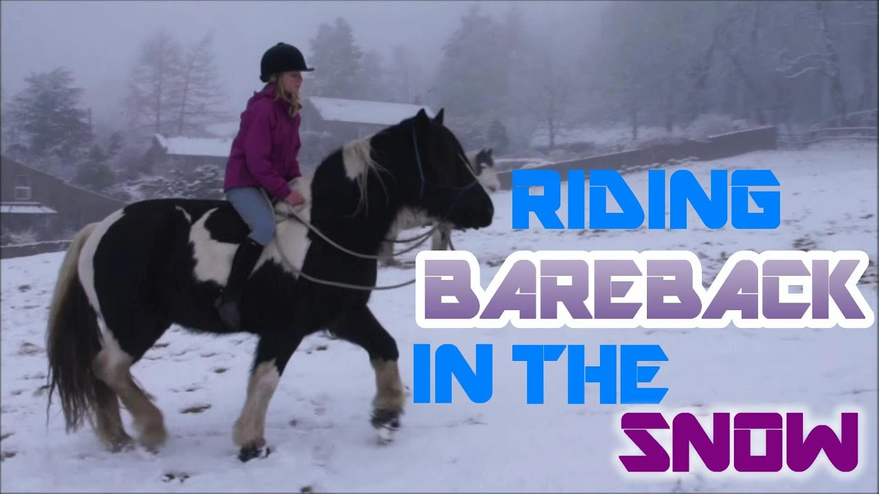 Bareback riding - YouTube