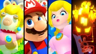Mario + Rabbids Kingdom Battle ALL CUTSCENES (Switch)