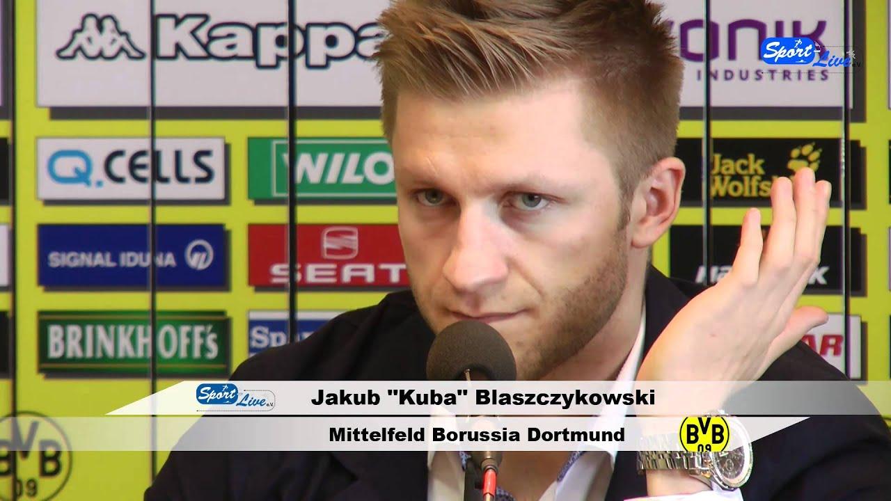 Fußball-EM 2012:  Pressekonferenz mit den 3 polnischen Akteuren vom BVB (Teil 5)