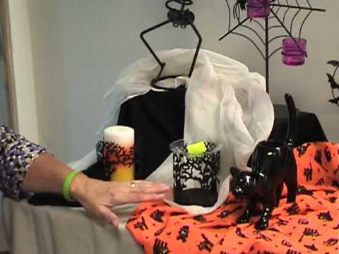 margarets partylite halloween video