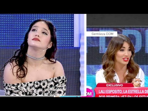 ¡Las caras de Ángela Torres al escuchar a Lali Espósito!