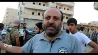شهداء وجرحى باستهداف مدينة الدانا بسيارة مفخخة