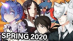 Spring 2020 Anime Season: What Will I Be Watching?