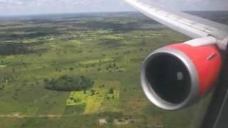 Landing at Lilongwe