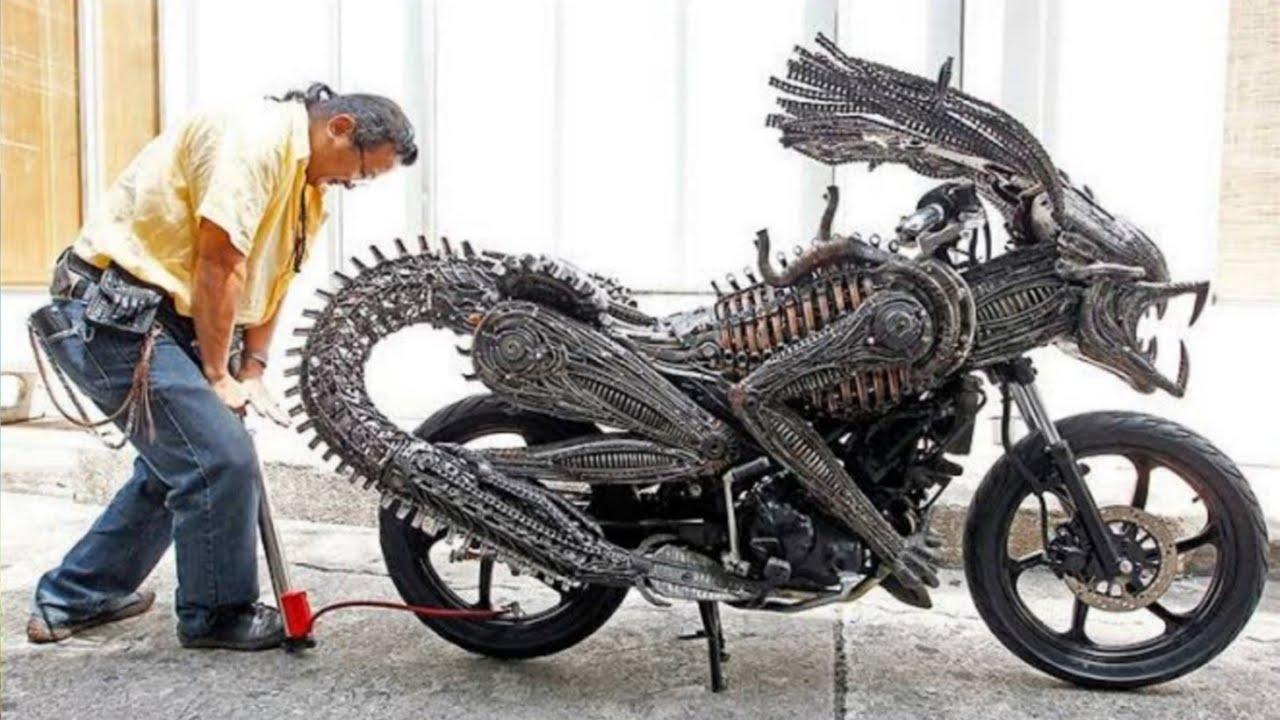 দেখুন পৃথিবীর সবচেয়ে অদ্ভুত ১০টি বাইক!!! most unusual bike in the world