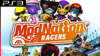 Playthrough [PS3] ModNation Racers