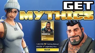 Fortnite - How To Get Mythics From Collection Book - Get the MGR Master Grenadier NOW