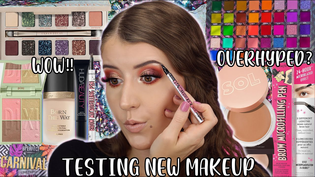 TESTING HOT NEW MAKEUP 2020 🔥 FULL FACE OF FIRST IMPRESSIONS 😍