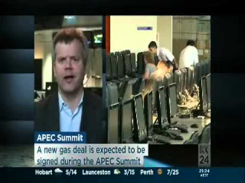 ABC News 24 - Malcolm Cook on APEC