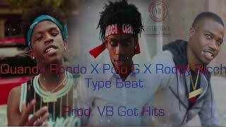 "[FREE] Quando Rondo X Polo G X Roddy Ricch Type Beat ""I Ain't Scared"" 2018 | Prod.VB Got Hits"
