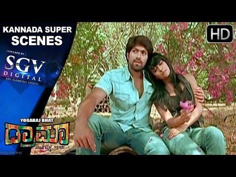 Radhika Pandith's emotional scene | Kannada Scenes | Rocking star Yash