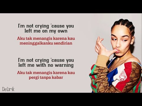 Don't Watch Me Cry - Jorja Smith (Lyrics Video Dan Terjemahan) - [Alexandra Porat Cover]