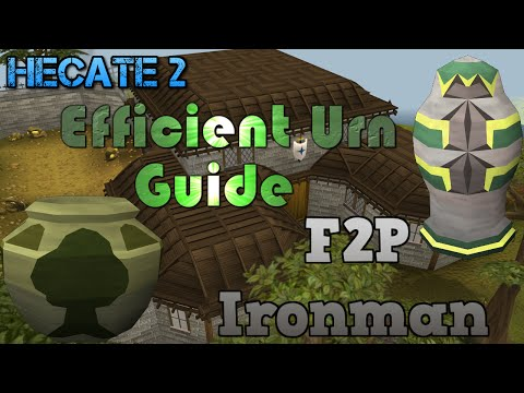 Efficient F2P Ironman Urn Making Guide - Hecate 2