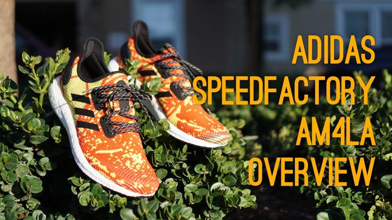 detailing e9aa0 65a5d Adidas Speedfactory AM4LA Overview