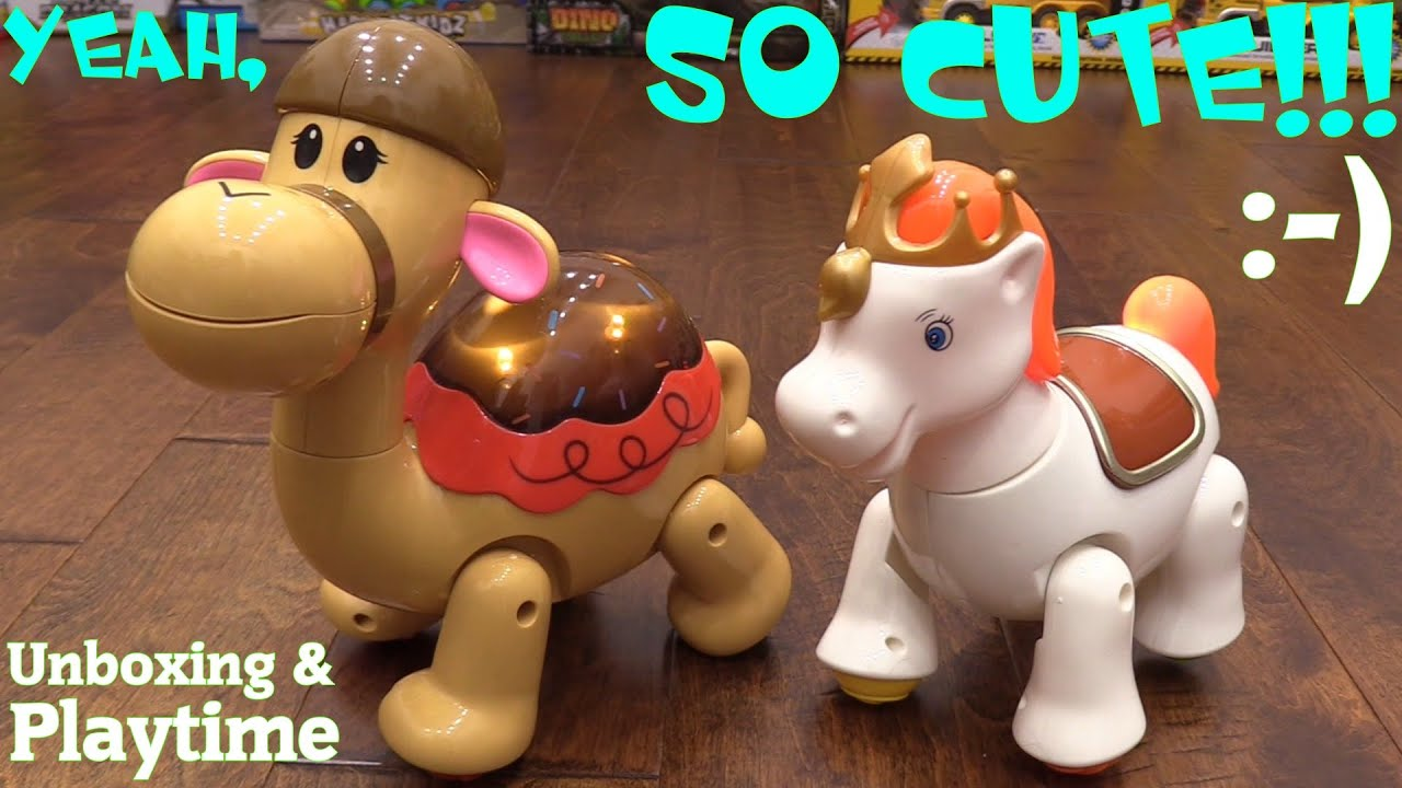 Cute Toys for Toddlers and Little Girls Learn Colors Animal Toys