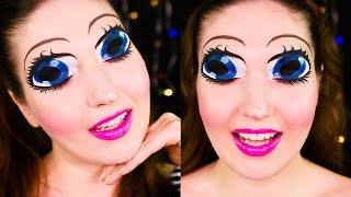 Anime Eyes Makeup + Nintendo 3DS Giveaway!!