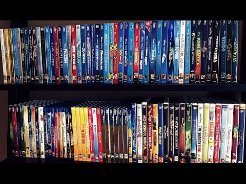 My Complete Disney/Pixar Blu Ray Collection - May 2017 Update