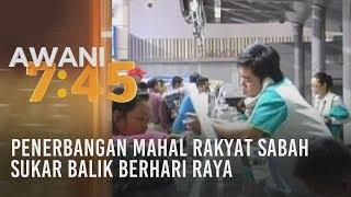 Penerbangan mahal rakyat Sabah sukar balik berhari raya