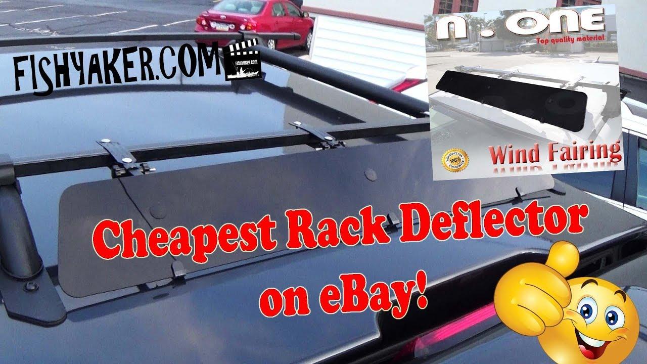 cheapest car and truck rack wind deflector fairing on ebay