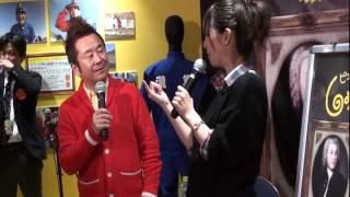 2月23日にピエ〜ル瀧のしょんないTV展inパルシェで行われた杉本、広瀬...