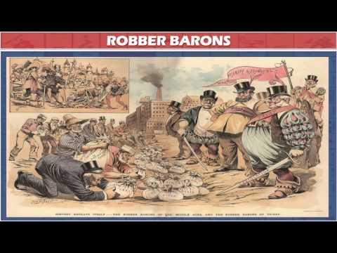 US History - Robber Barons, Trust & Anti-Trust