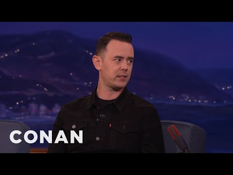 Tom Hanks Told Colin Hanks He Was Getting Tubby   CONAN on TBS