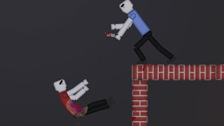 Humans Fight Each Other On High Ground In People Playground