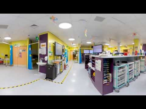 A look around the Children's Emergency Department at the Bristol Royal Hospital for Children
