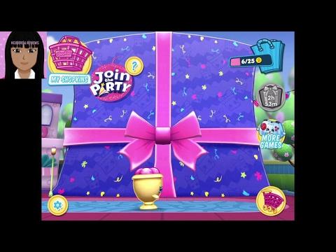 Shopkins world Episode 34:  *UPDATE* Rosie bloom Garden party!