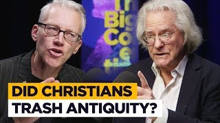 Did Christians destroy classical works? Tom Holland clashes with AC Grayling