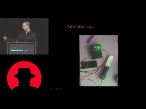BONUS- BLACK HAT- Barnaby Jack - Jackpotting Automated Teller Machines Redux - Video