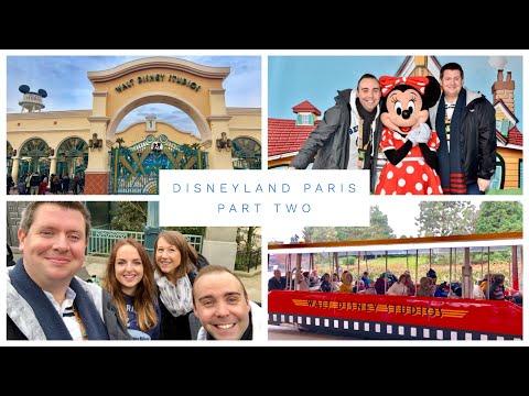 Disneyland Paris Vlog - March 2018 - Part 2 - Disney fun in Walt Disney Studios