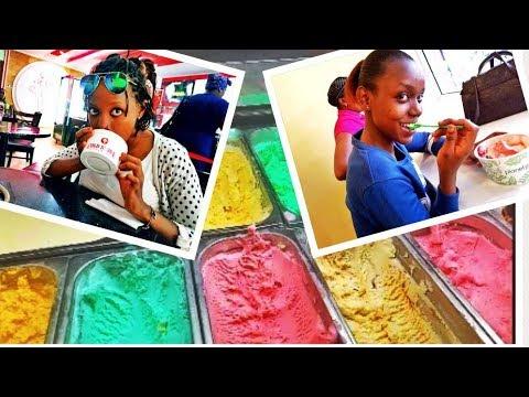 BEST ICE-CREAM JOINTS IN NAIROBI CITY, KENYA/ DAY VLOG.
