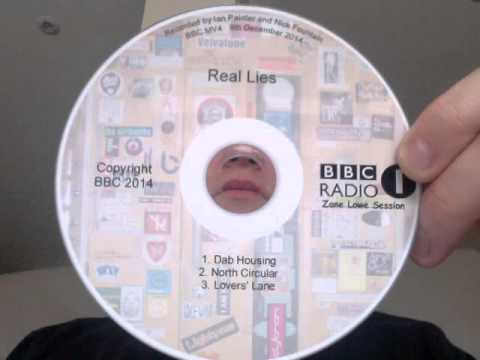Real Lies - Zane Lowe Session on BBCR1 07.01.15