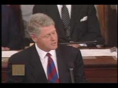 President Bill Clinton - Address on Health Care Reform