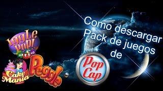 Como Descargar Pack De Juegos De PopCap