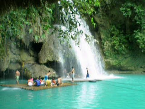 Fall Beach Wallpaper Kawasan Falls In Badian Cebu Island Big Fall