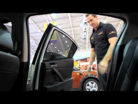 Power Rear Window Sun Shade Install Doovi