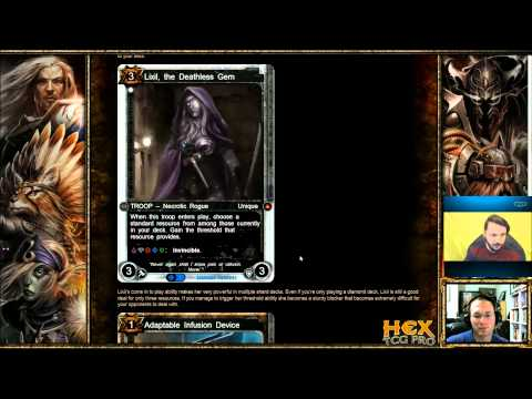 Hex Alpha!  Deck Building w/ Da Squire Ep 17 Immortal Sojour