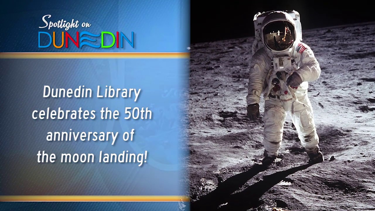 Library enjoys Apollo 11 Astronauts and Command Module Model