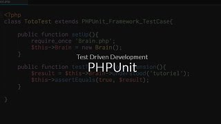 Tutoriel PHPUnit : Tests unitaires, PHPUnit