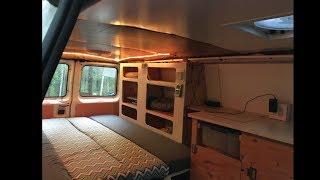 Alaska Van Conversion Build (With furnace)
