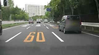 万博の外周を一周走ってからララポートエキスポシティの駐車場に停めてみました。大阪府吹田市の万博記念公園の周りです。