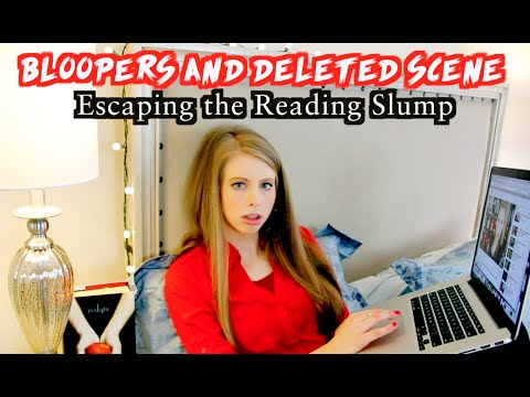BLOOPERS & DELETED SCENES | How to Escape the Reading Slump